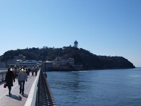 江ノ島の入り口で1