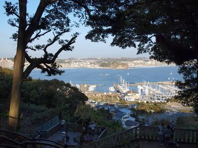 江ノ島の高台から・・2