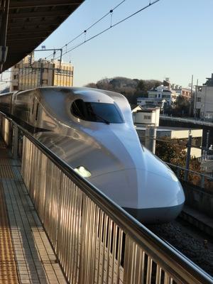 新幹線〜1