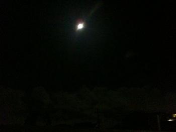 2011年9月12日の満月♪