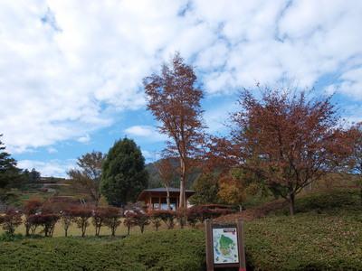 宮ヶ瀬の秋空1
