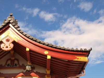 屋根と飛行機1