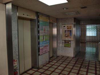 ラジオ会館4Fエレベーター