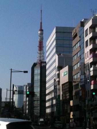 東京タワー〜浜松町辺り
