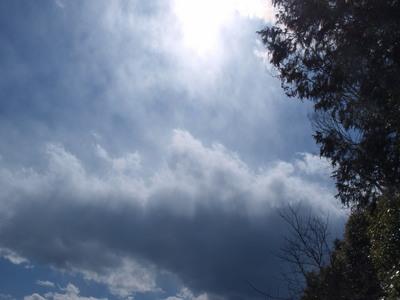 日曜日の空模様1