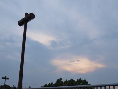 夕方の空・・・2