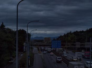 曇り空・・・